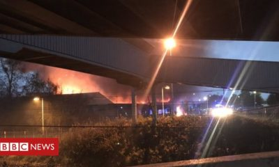 Firefighters tackle Clydebank industrial unit blaze