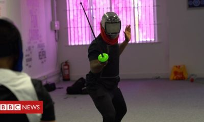 Steven thinks fencing helps people affected by knife crime