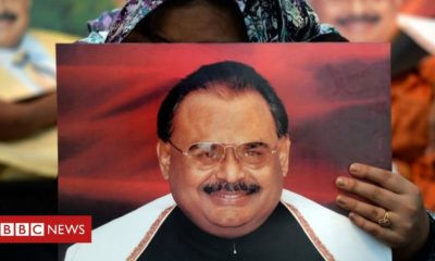 Altaf Hussain: Pakistan MQM founder charged over 'hate speech' in UK