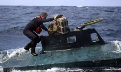 U.S. Coast Guard Seizes Submarine Carrying Cocaine Worth $165m