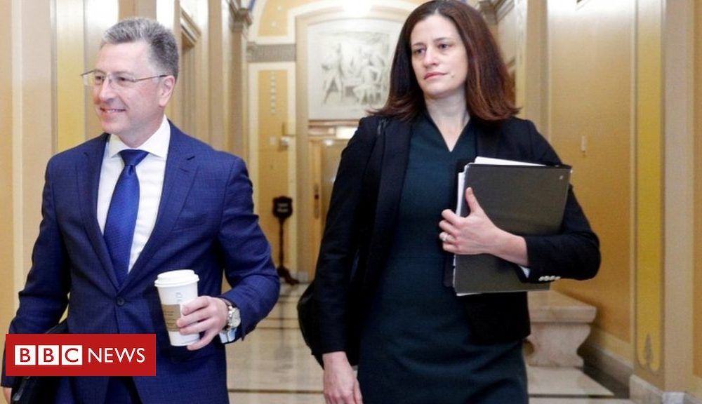 Kurt Volker: First witness testifies in Trump impeachment probe