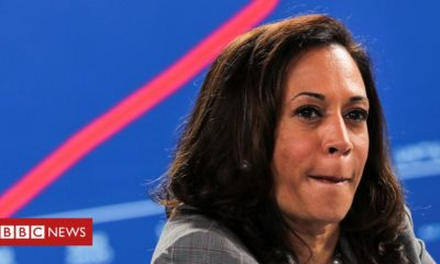 US Election 2020: Kamala Harris targeted by false conspiracy theories