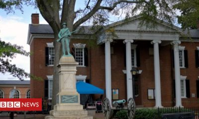 Charlottesville: Confederate soldier statue removed