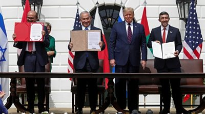 Trump on Israel-UAE-Bahrain deals: 'We mark the dawn of a new Middle East'