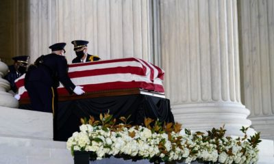 Ruth Bader Ginsburg Is the First Woman to Lie in State at the U.S. Capitol