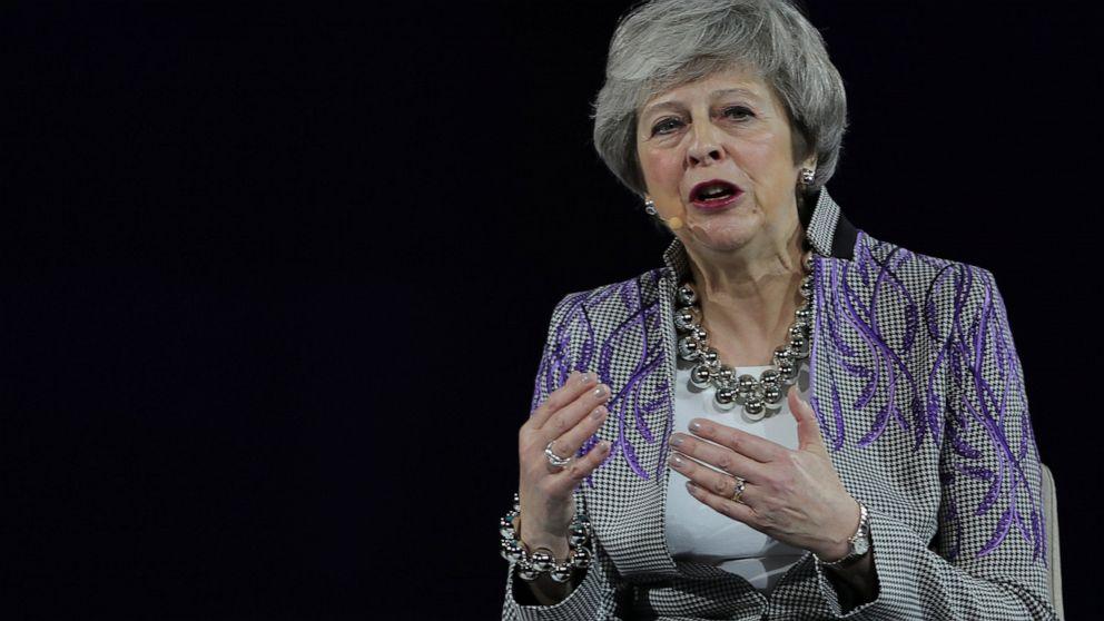 Ex-UK PM May slams Johnson's bid to break international law