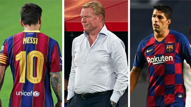 Barcelona: Lionel Messi, Luis Suarez and three other questions