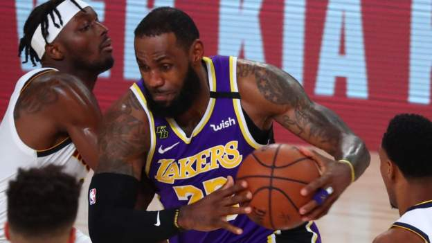 LeBron James leads LA Lakers to NBA Western Conference Finals series victory