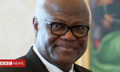 Ernest Bai Koroma: Sierra Leone ex-leader banned from leaving country
